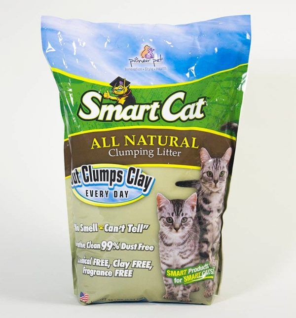 #6505 SmartCat ALL NATURAL Clumping Litter by Pioneer Pet-10lb Bag