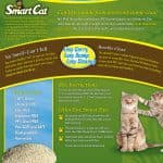 #6505 SmartCat ALL NATURAL Clumping Litter by Pioneer Pet-10lb Bag